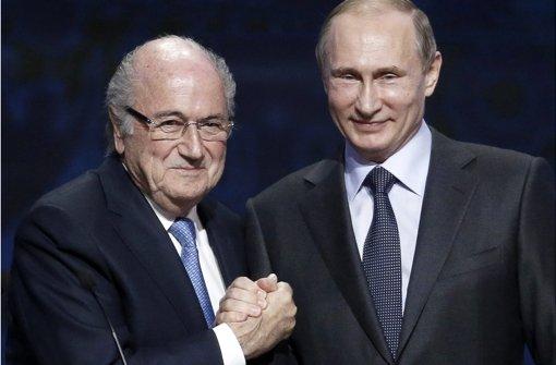 Wird Blatter im Exil Zar in St. Petersburg?