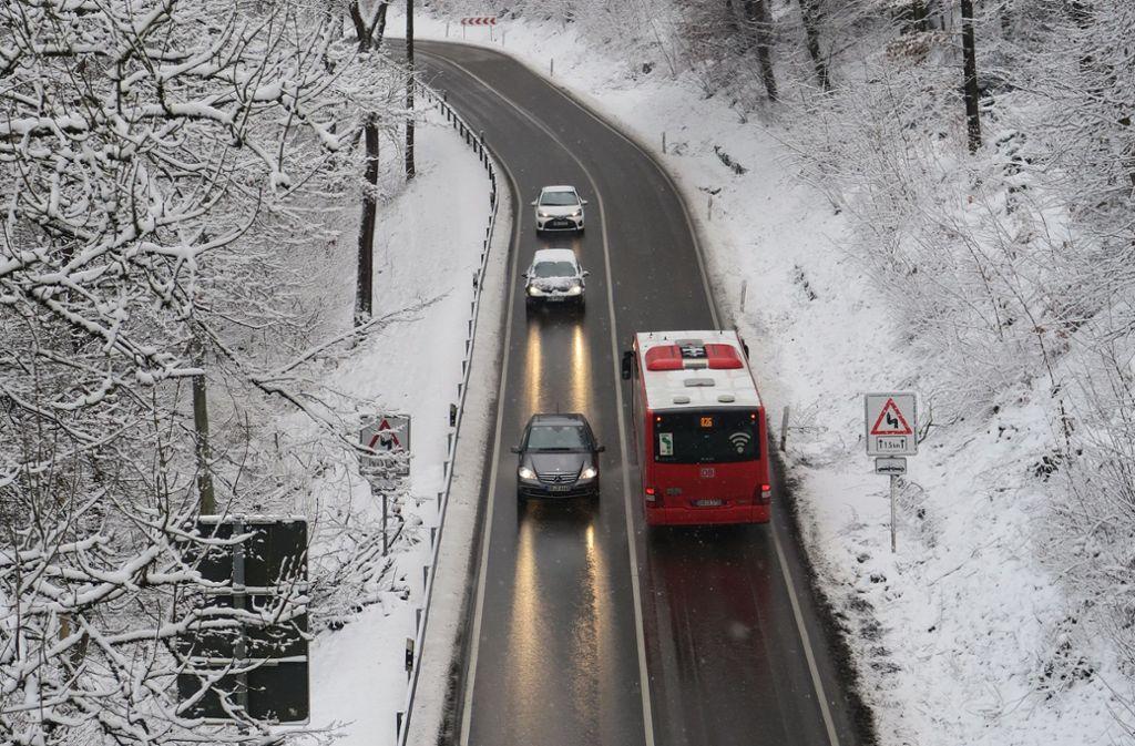 Vor allem im Winter sind Fahrgäste froh, wenn mit den Bussen alles klappt. Foto: Archiv Malte Klein
