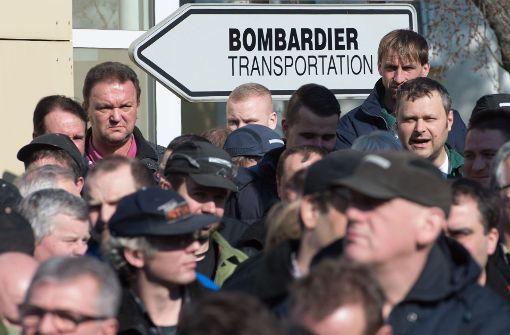 Bombardier will in Deutschland 2500 Jobs streichen