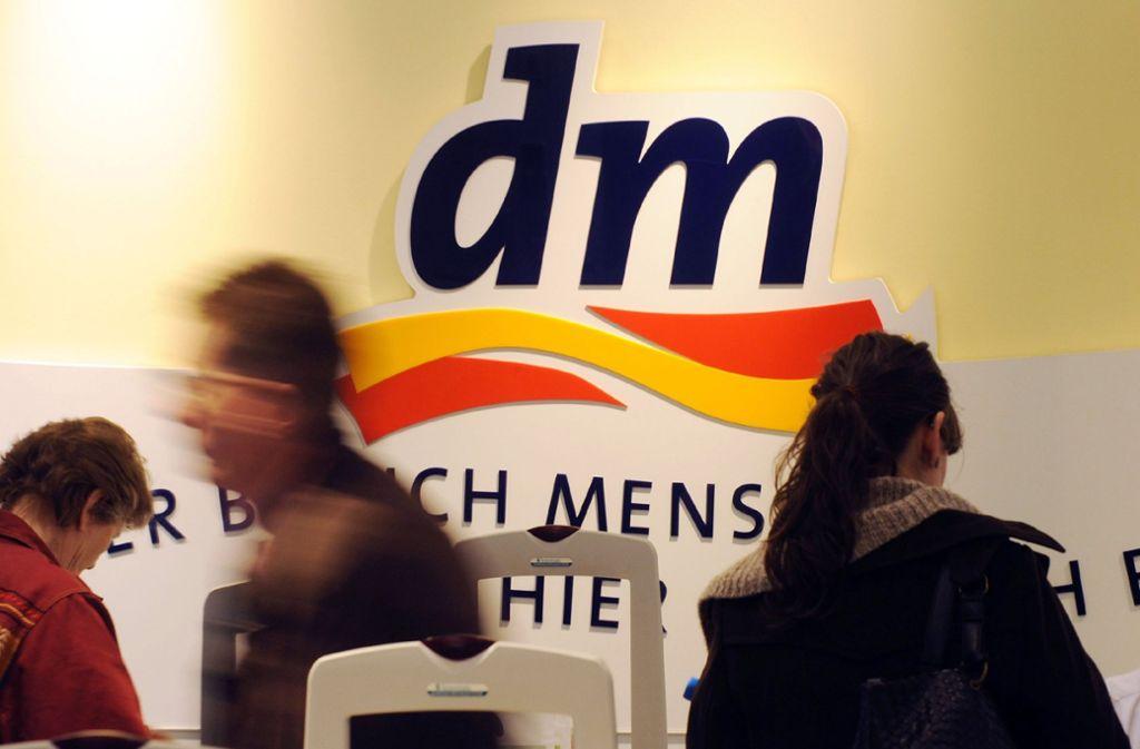 Rückrufaktion bei der Drogeriemarktkette dm. Foto: dpa