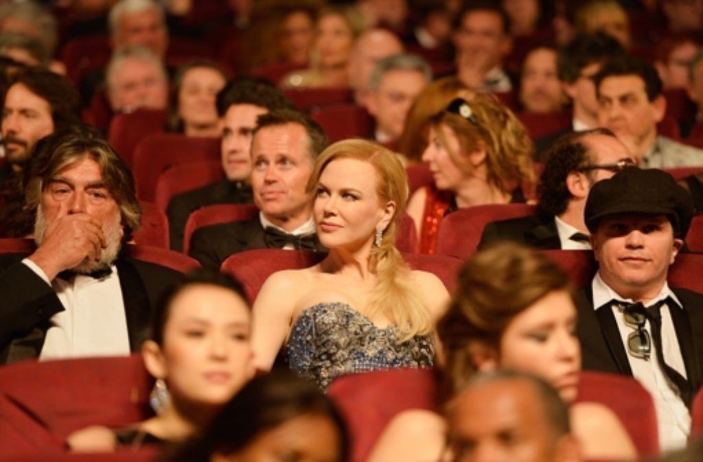 Nicole Kidmans umstrittener Film Grace von Monaco feierte in Cannes Premiere und eröffnete das Festival. Foto: Getty Images Europe