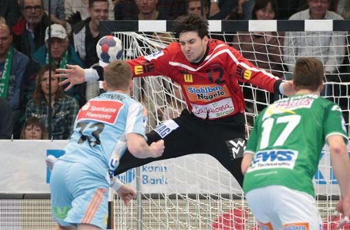 Stehen etwa nur Verrückte im Handball-Tor?