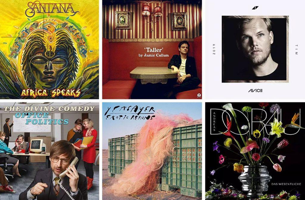Einige der Veröffentlichungen dieser Woche Foto: Labels