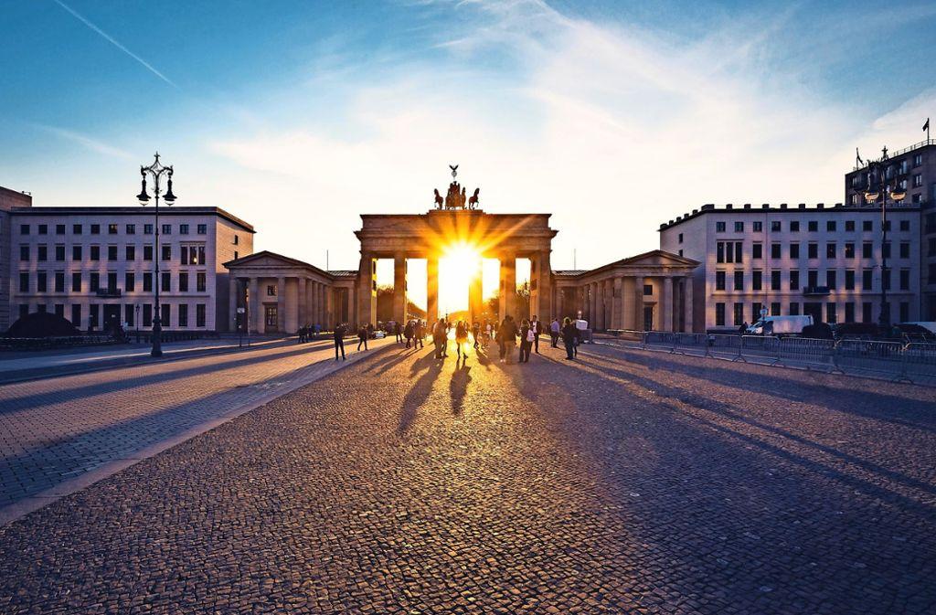 Deutschland als Vision – die Politik sollte dazu in der Lage sein, mit Blick in die Zukunft eine Verheißung zu bieten Foto: