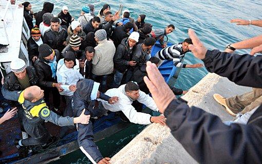 Flüchtlinge werden unwürdig behandelt