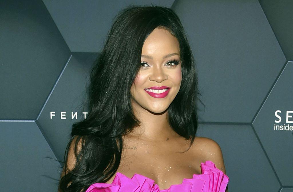 Das neue Modelabel Fenty sei um Rihanna aufgebaut und von ihr entwickelt, hieß es in einer Presseerklärung. Foto: AP