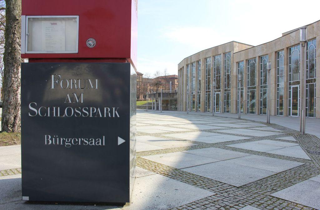 Die AfD kommt ins Ludwigsburger Forum. Foto: Pascal Thiel