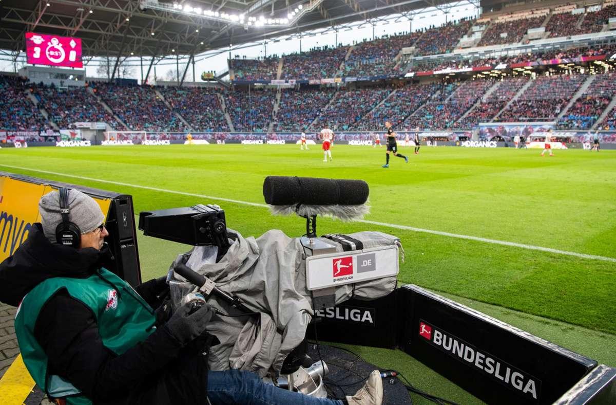 Wie geht es weiter mit der Verteilung der TV-Gelder in der Bundesliga? Foto: dpa/Robert Michael