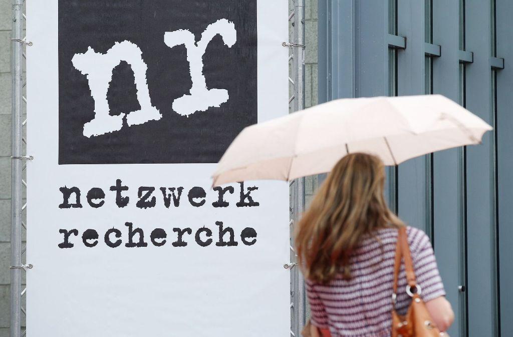 Die Journalistenvereinigung Netzwerk Recherche tagt derzeit in Hamburg. Foto: dpa