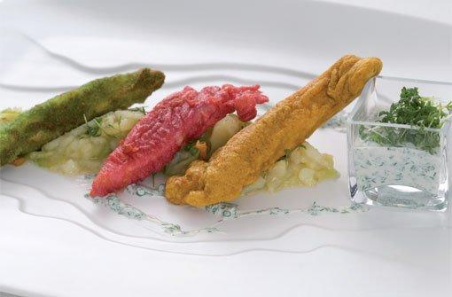 Dreierlei Backfisch