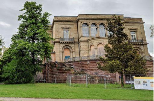 Villa Berg wird saniert – Pflegeheim im Park verworfen