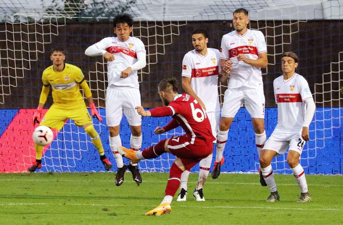 Der VfB Stuttgart gegen den FC Liverpool im vergangenen Jahr. (Archivbild) Foto: Pressefoto Baumann/Pressefoto Baumann