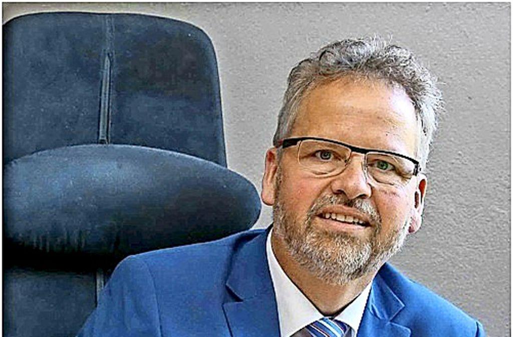Wolfgang Sartorius ist  Vorsitzender der Erlacher Höhe. Foto: Edgar Layher