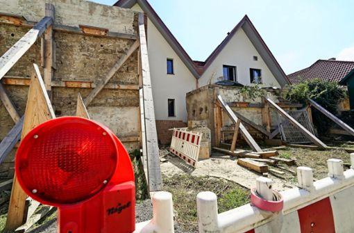 Firma kommt für den Schaden an der Stadtmauer auf