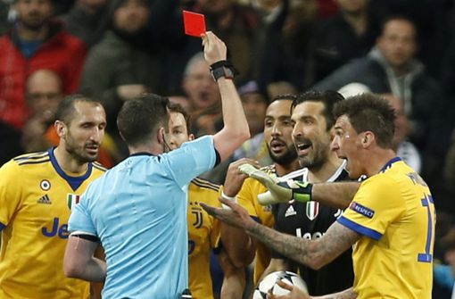 "Gianluigi Buffon zum Schiedsrichter: ""Fahr zur Hölle"""