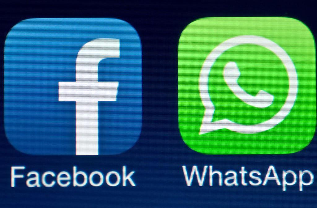 2014 übernahm Facebook den Nachrichtendienst Whatsapp. Wegen irreführender Angaben muss das Soziale Netzwerk nun eine Millionenstrafe zahlen. Foto: dpa-Zentralbild