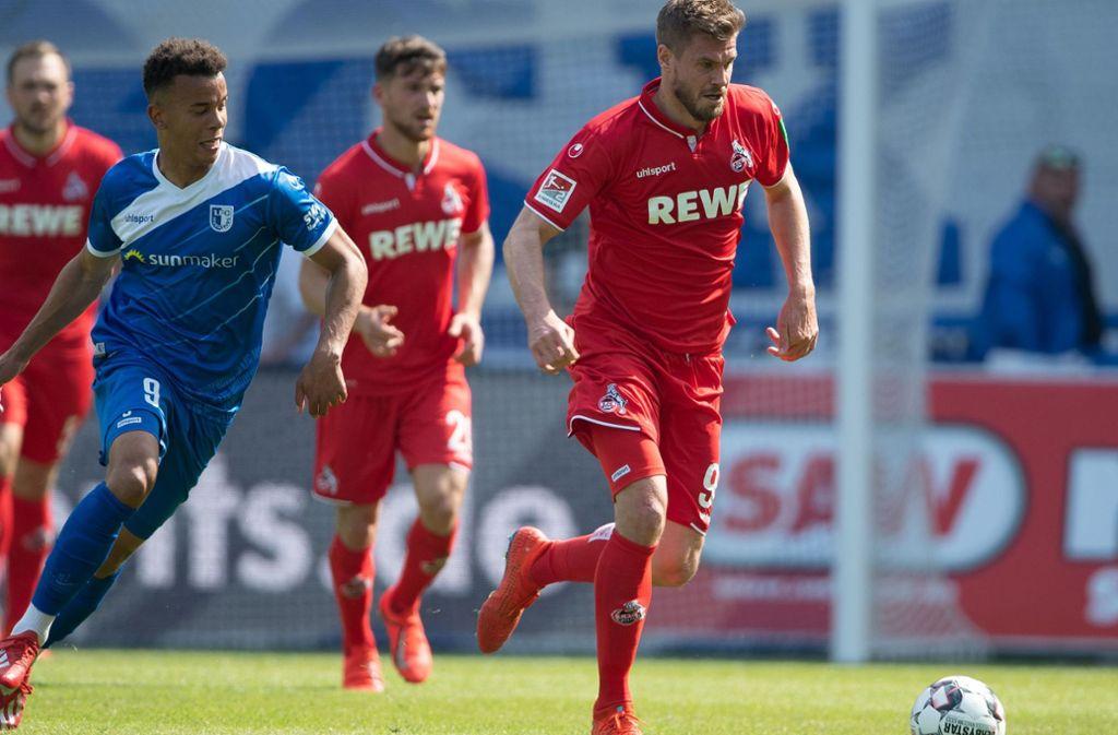 Simon Terodde wurde bereits beim VfB Stuttgart  Torschützenkönig. Foto: dpa