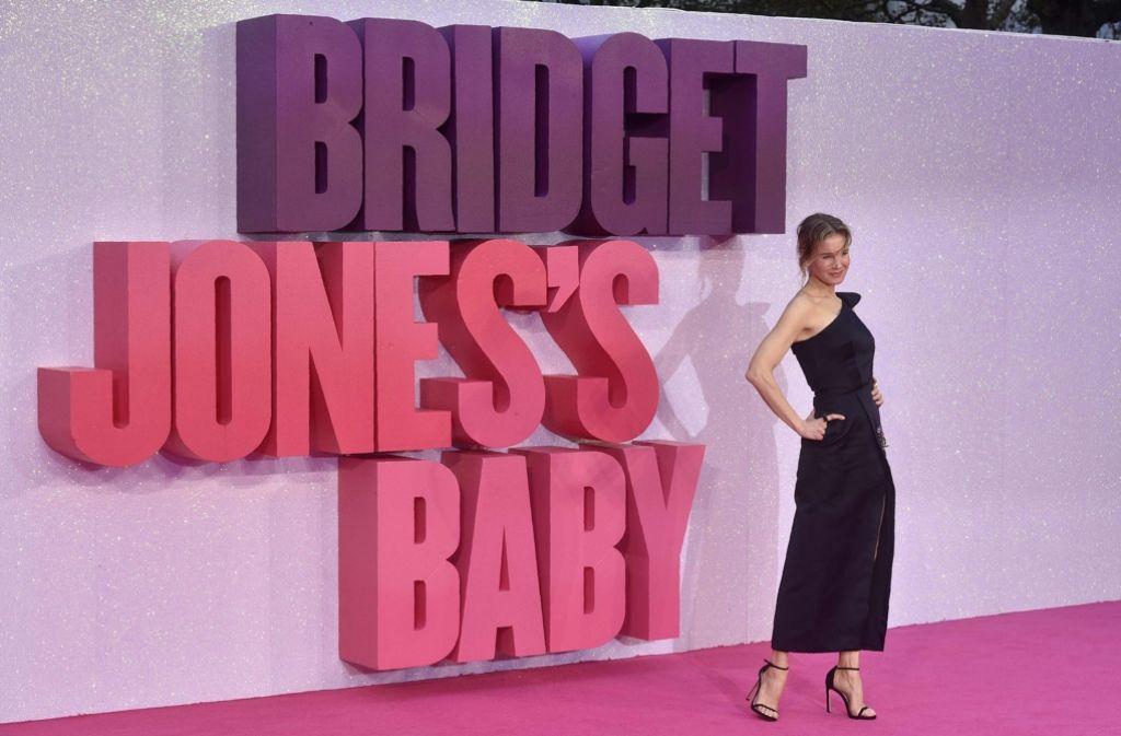 Schauspielerin Renée Zellweger verkörpert seit 2001 Bridget Jones. Foto: AFP