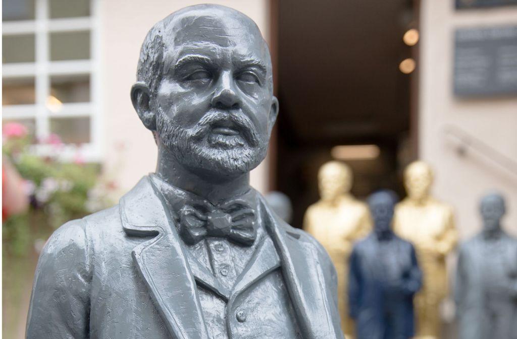 Gottlieb Daimler ist Gegenstand eines Kunstprojekts in Schorndorf. Foto: Frank Eppler