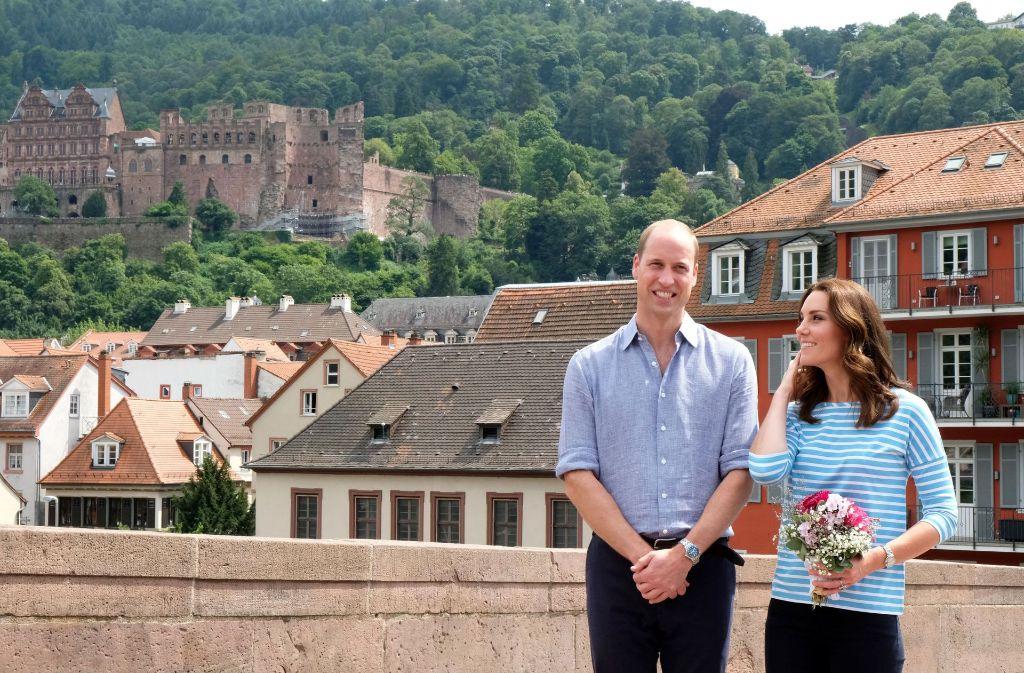 Kate und William haben an diesem Donnerstag Heidelberg besucht. In unserer Bildergalerie blicken wir zurück auf diesen besonderen Tag. Klicken Sie sich durch. Foto: Kai-Uwe Wärner