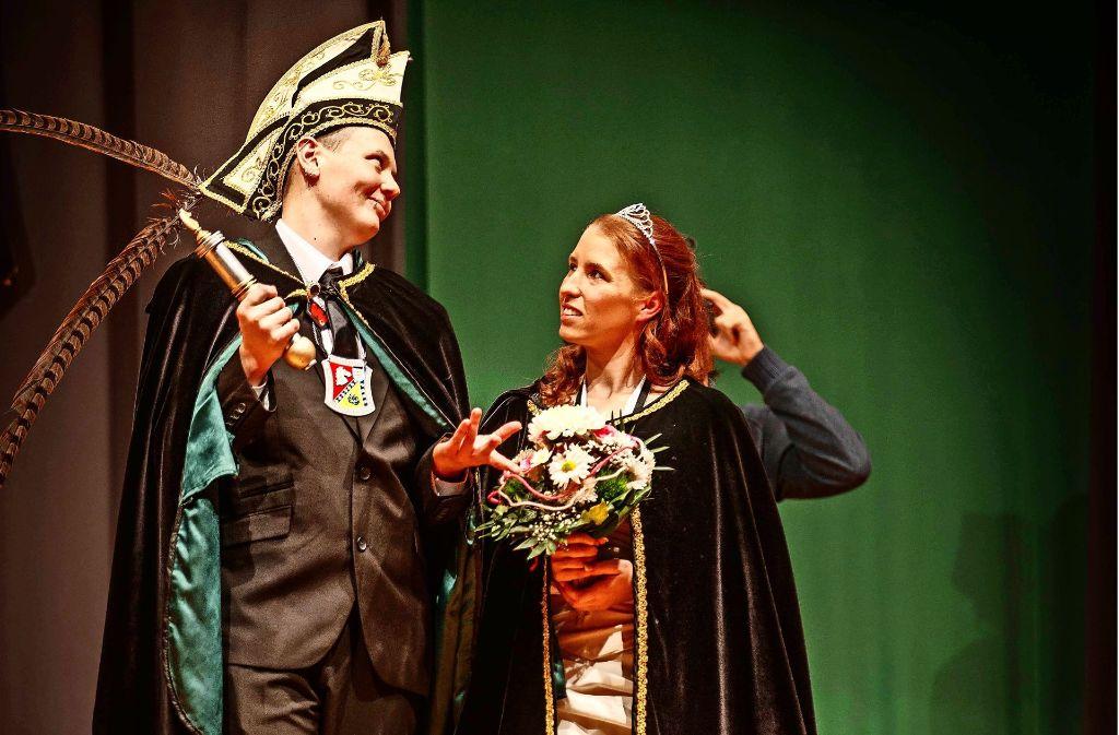 Die Waiblinger Salathengste haben erstmals ein rein weibliches Prinzenpaar. Foto: Stoppel