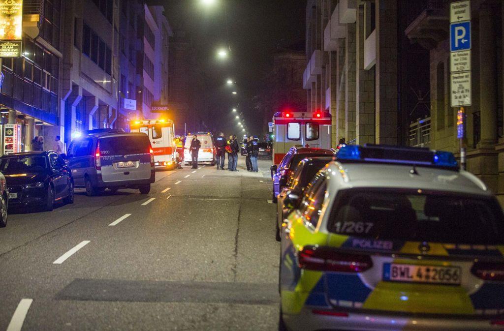 In der Reinsburgstraße in Stuttgart ist in der Nacht zum Sonntag ein Streit eskaliert. Foto: 7aktuell.de/Simon Adomat