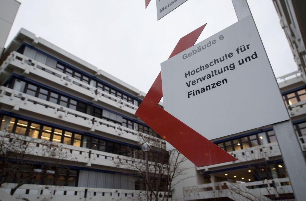 Schon wieder Besuch von der Staatsanwaltschaft: die Beamtenhochschule in Ludwigsburg Foto: dpa