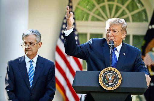 Trump verzichtet auf Experimente