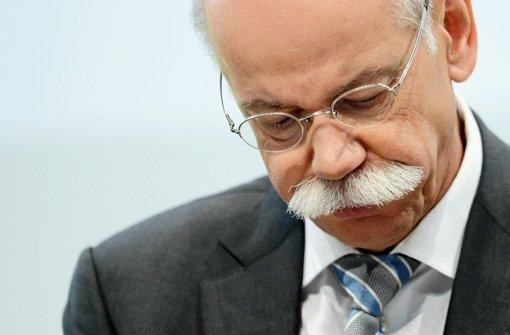 Daimler auf Schlingerkurs