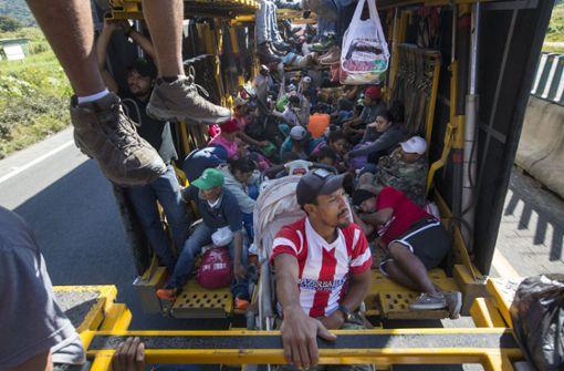 Staatschefs von Guatemala und Honduras für Vorgehen gegen Migranten