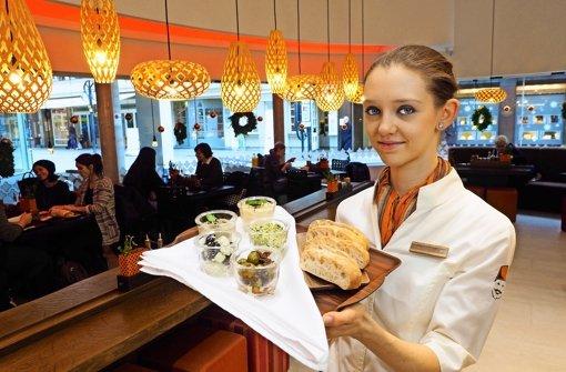 Schnellrestaurant à la Morgenland