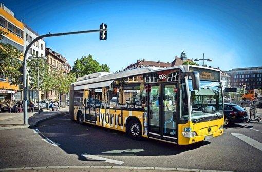 SSB-Hybridbusse tanken  auch beim Bremsen