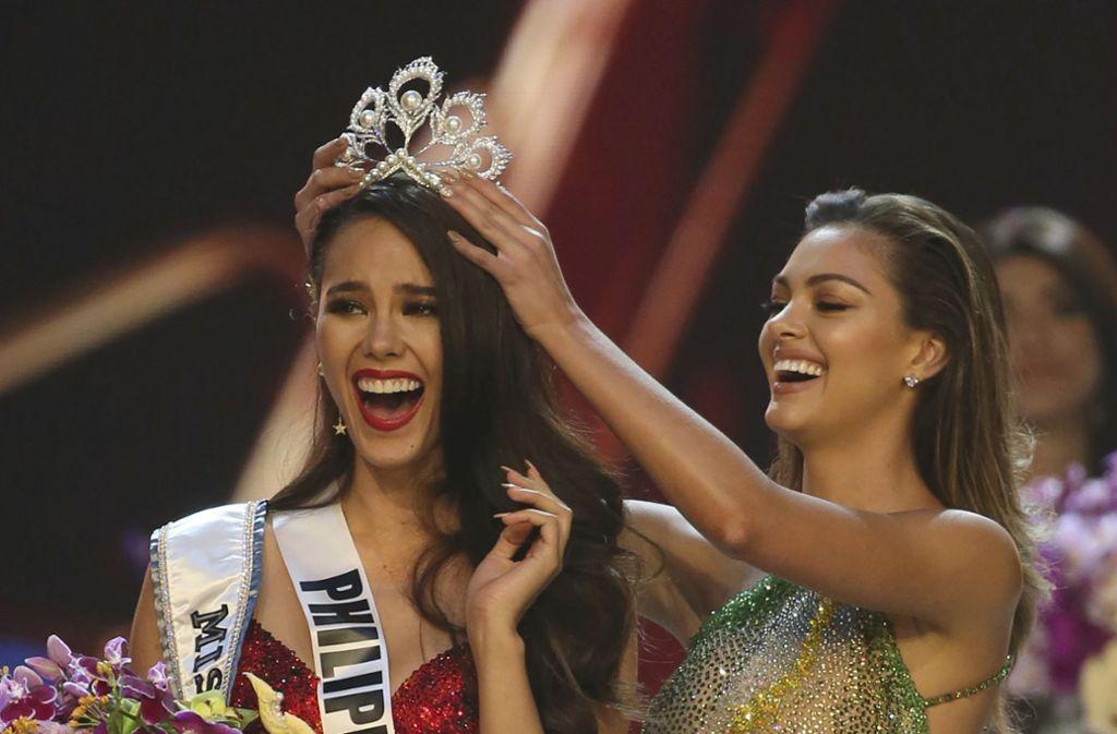 Die Philippinerin Catriona Gray ist zur schönsten Frau der Welt gewählt worden. Foto: AP