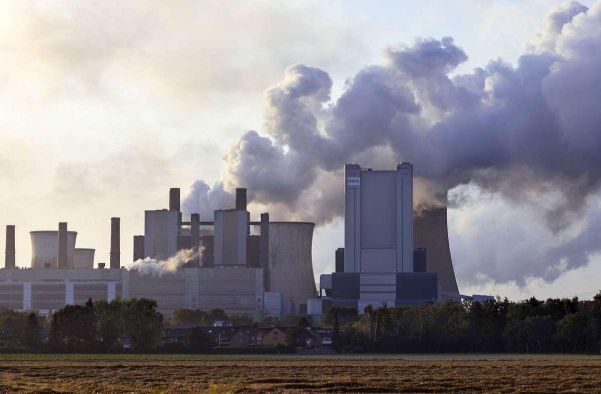 Sind Emissionen von Kohlekraftwerken wie hier in Niederaußem Foto: Imago/Future Image