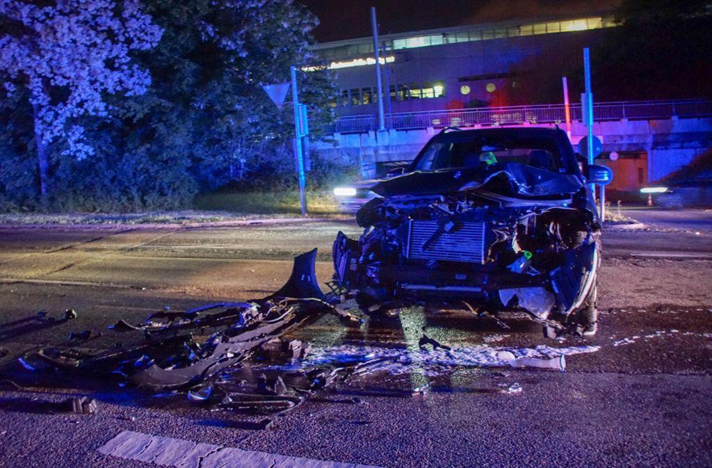 In Stuttgart-Degerloch kam es am Mittwochabend zu einem Unfall. Foto: SDMG