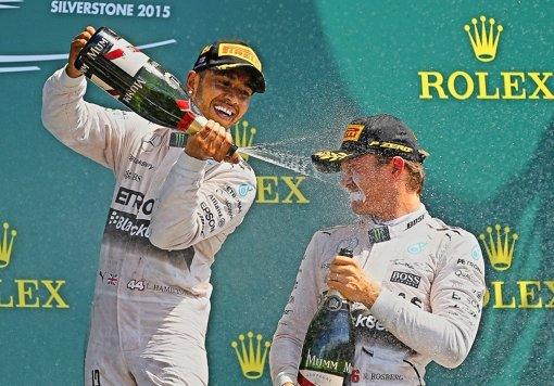 Hamilton stoppt den Rosberg-Trend