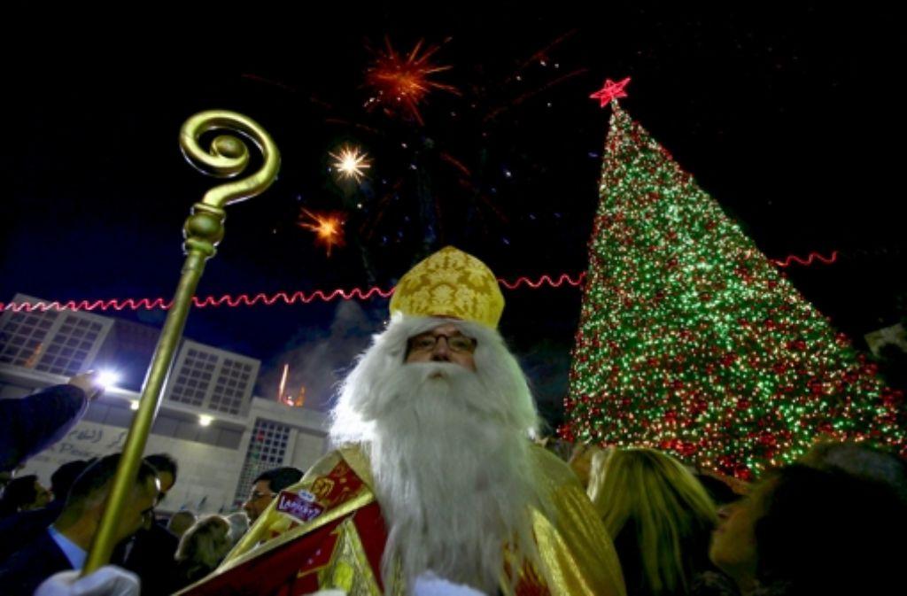 Der Nikolaus Foto: Issam Rimawi