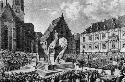 Schiller – eine Säule der Stadt