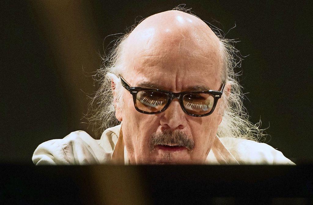 Der Stuttgarter Jazz-Pianist Wolfgang Dauner Foto: dpa