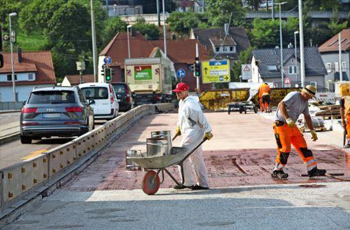 Land bezuschusst Esslingens größte Baustelle
