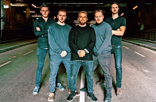 Das Quintett Erwin & Edwin bringt am 19. Oktober seinen Electro Brass nach Stuttgart in den Club Zentral.
