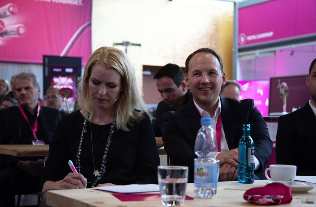 """Marc Biadacz (CDU), direkt gewählter Bundestagsabgeordneter im Wahlkreis Böblingen, Mitglied in den Ausschüssen """"Arbeit und Soziales"""" sowie """"Digitale Agenda"""" bei der DIGITAL SOUTHWEST  Foto: NILS STARKMETH"""