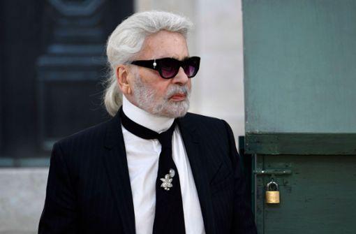 Karl Lagerfeld ist tot