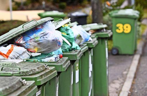 Die Abfallgebühren  werden stark steigen
