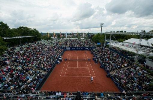 Das Tennis-Turnier auf dem Stuttgarter Weissenhof soll von 2015 an auf Rasen ausgetragen und in die Vorbereitung für Wimbledon integriert werden. Foto: dpa