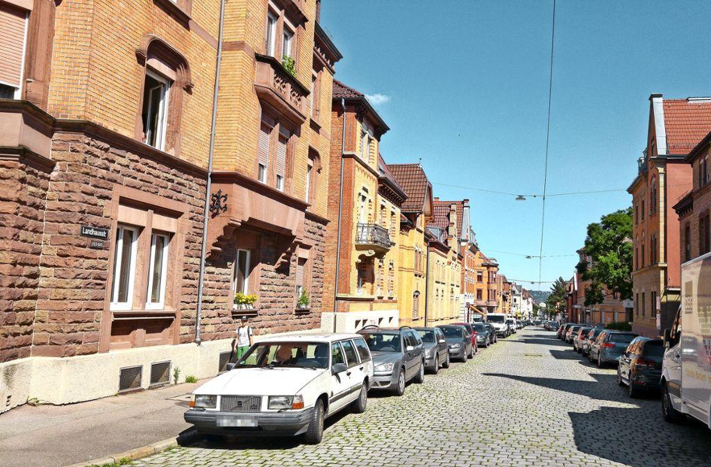 Die Landhausstraße führt auch durch die Siedlung Ostheim. Foto: Jürgen Brand