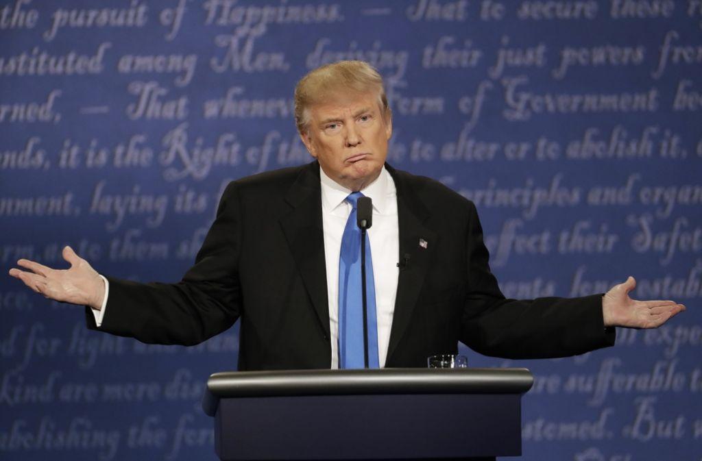 Donald Trump will jetzt auf seine eigene Art um Amerika kämpfen. Foto: AP
