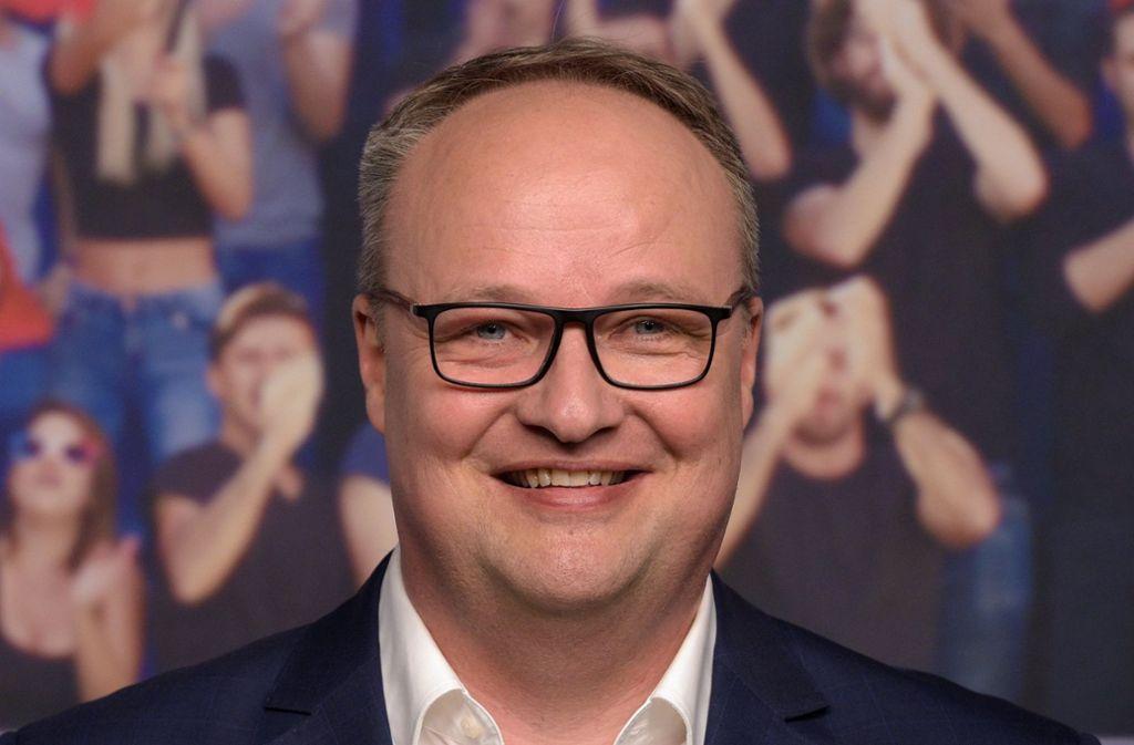 """""""Heute-show""""-Moderator Oliver Welke hat sich für die Darstellung des AfD-Sachverständigen Amann entschuldigt. Foto: dpa"""