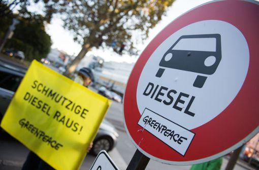 Wo fällt das Dieselfahrverbot?