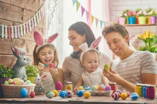 Wann wünscht man sich Frohe Ostern?